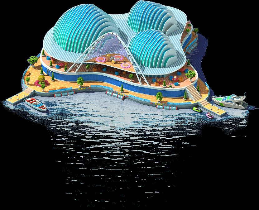 Floating Concert Hall (Tourist Island)