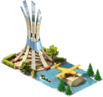 Gold A-11 Attack Aircraft Monument.png