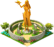 Gold Morrigan Statue.png