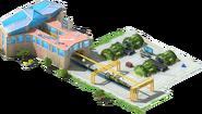 Missile Construction Factory Conveyor ICBM