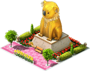 Gold Koala Statue.png