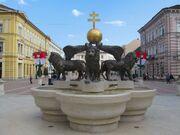 RealWorld Lion Fountain in Szeged.jpg