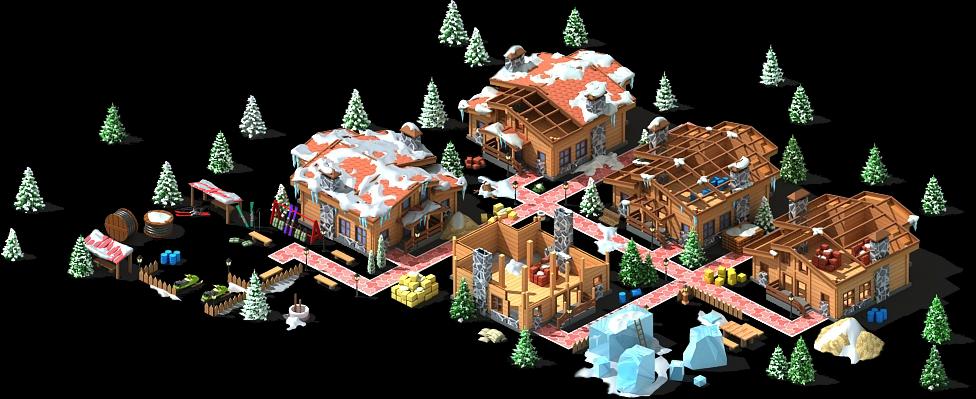 Winter Games Village