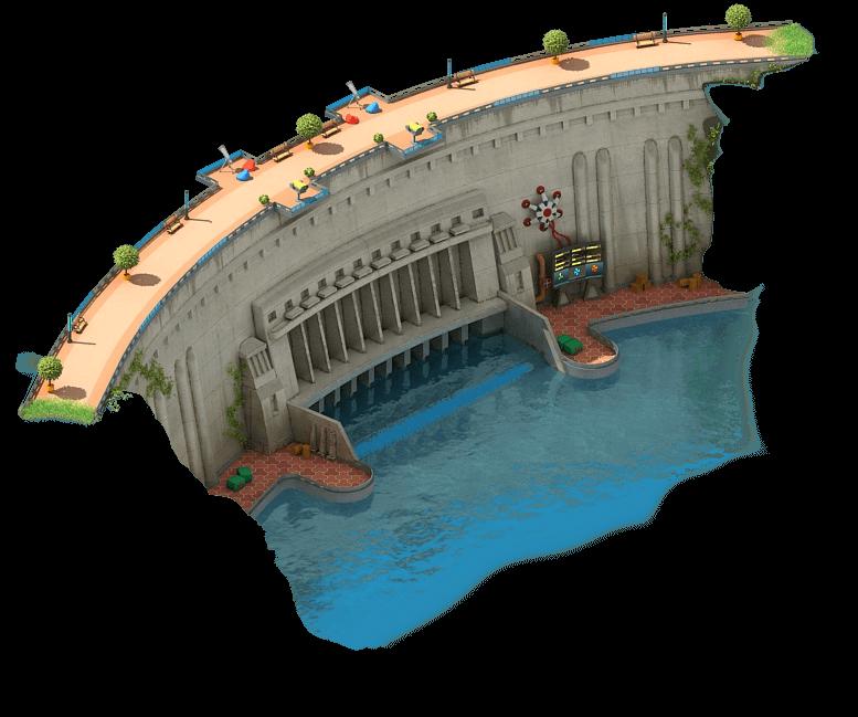 Reinforcing Dam