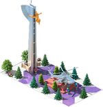 Silver AH-32 Attack Helicopter Monument.png