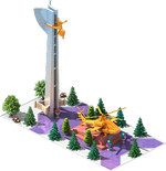 Gold AH-32 Attack Helicopter Monument.png