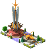 Gold AH-21 Attack Helicopter Monument.png