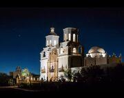 RealWorld Mission San Xavier del Bac (Night).jpg