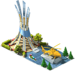 Gold AH-14 Attack Helicopter Monument.png