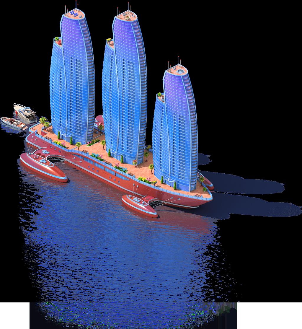 Skyscraper Ship