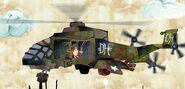 Dan Halen's helicopter