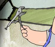 Plumber Bubba's screwdriver