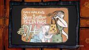 Dan Halen's Shoe Leather Pizza Purse