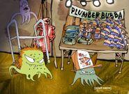 Plumber Bubba merchandise table
