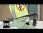 Bathroom Confusion - Squidbillies - Adult Swim