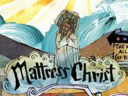 Matress Chirst logo and Jesus Christ