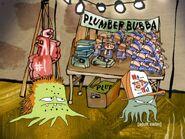 Plumber Bubba merchandise table 3