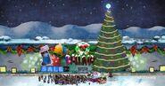 Ballmart During The Christmas Holiday
