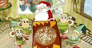 Santa & His Elves