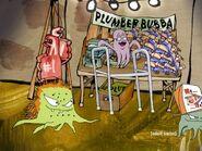 Plumber Bubba merchandise table 2