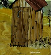 Outhouse or shed