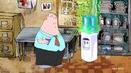 Glenn sees that the water dispenser is stolen by the Alien UFO