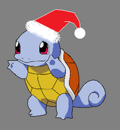 Christmas Squirtle