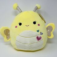 NEW-Squishmallows-Nixie-Yellow-Butterfly-11-Plush-Heart
