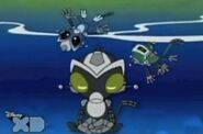 Gibson Otto and Antauri Underwater