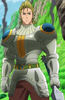 Hauser wearing armor.png
