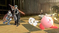 Byleth Lucina and Kirby