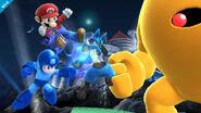 Mario megaman lucario yellowdevil