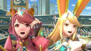 Pyra and Mythra Sakurai Twitter 7