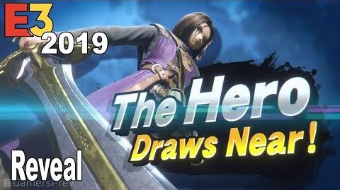 Super Smash Bros. Ultimate - The Hero Reveal Trailer E3 2019 HD 1080P