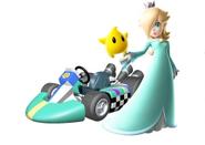 Rosalina Mario Kart Wii