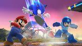 SSMB WiiU - Sonic Mario Megaman Screenshot