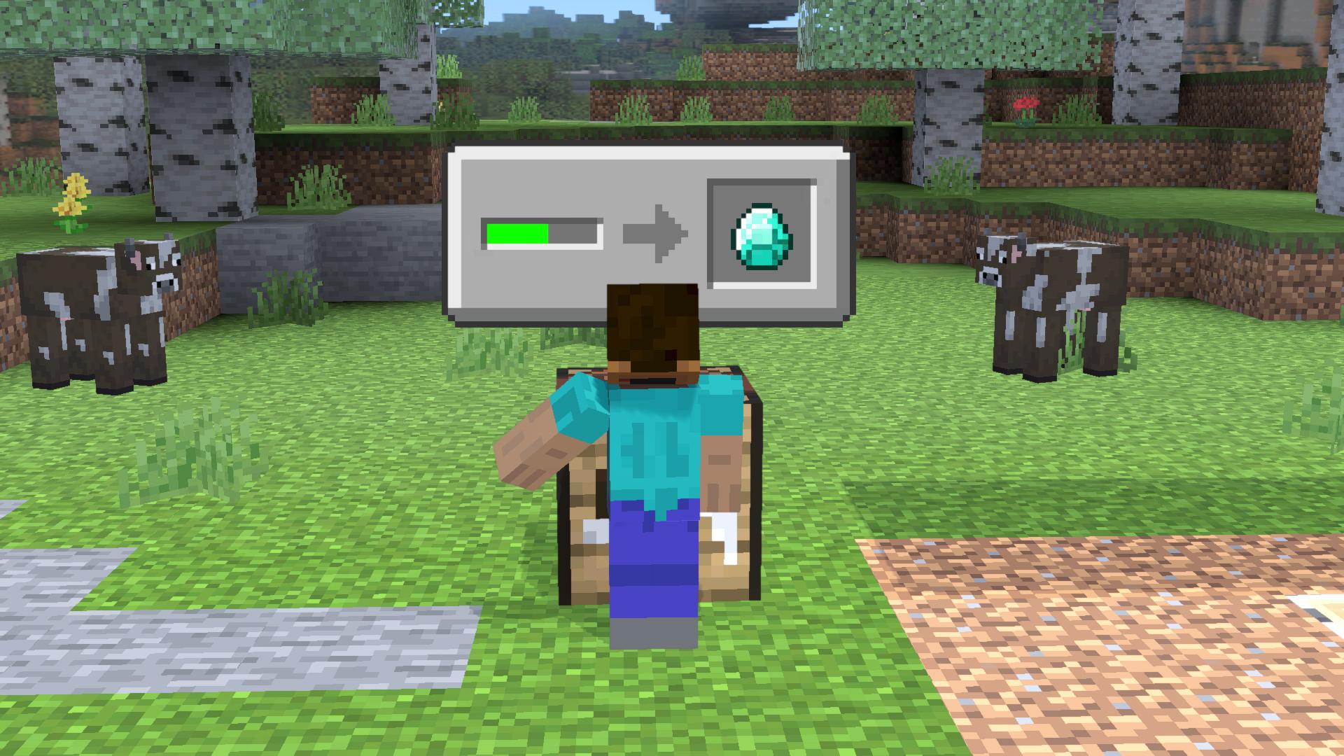 Mine / Craft / Create Block
