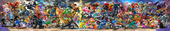 SSBU Panoramic with Min Min