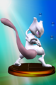 Mewtwo Trophy Smash Red SSBM