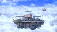 SSBU Cloud Sea of Alrest Battlefield