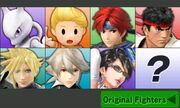 SSB3DS Character Select DLC