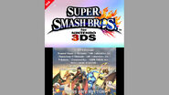 Smash Bros 3DS Overseas