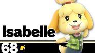 68 Isabelle – Super Smash Bros