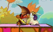 MetaKnight Pummel