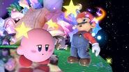 Mario and Kirby dizzy