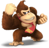 Donkey Kong SSBU Palette 1
