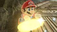Mario on a Warp Star