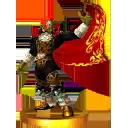 SSB3DS Ganondorf (Ocarina of Time) Trophy.png