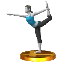 List of SSB3DS trophies/Wii Fit series