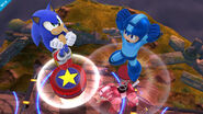 Mega Man & Sonic The Hedgehog SSB4